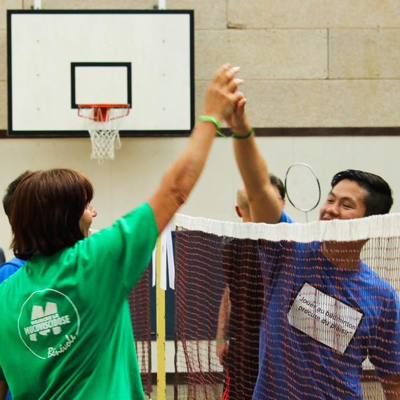 Venez Vaincre la Muco en jouant au Badminton