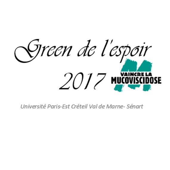 Green de l'espoir 2017