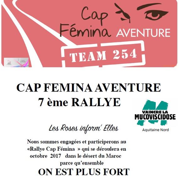 Cap Femina Team 254 pour Vaincre