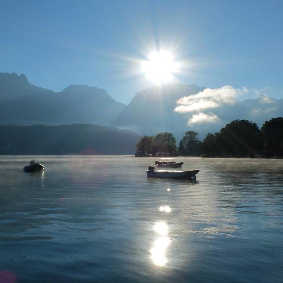 Plein Souffle autour du lac d'Annecy pour vaincre la Muco!
