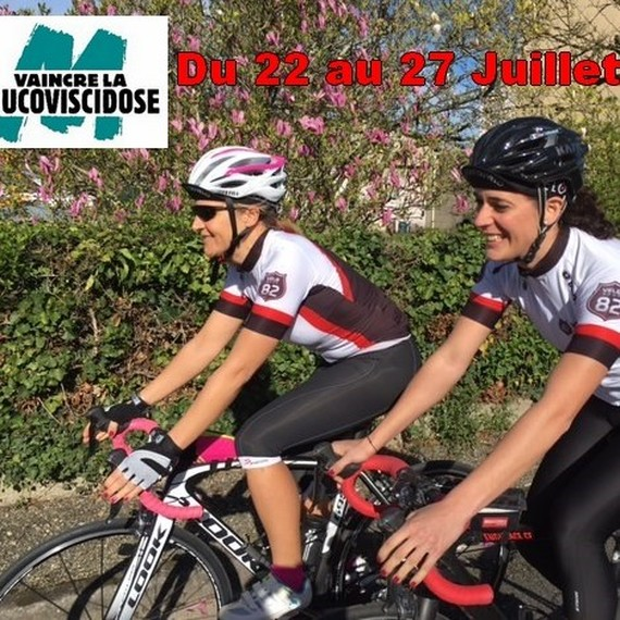 Défi Montauban-Biarritz à vélo, 430 kil pour vaincre la Muco !