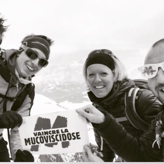 "Dossard Solidaire ""courir utile"" pour la mucoviscidose"