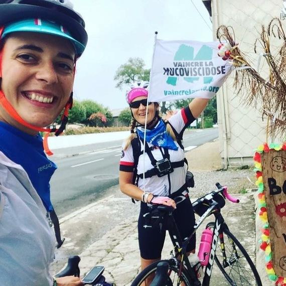 Défi à vélo 2018 : Landernau (29) ---> Montauban (82) pour vaincre la Muco