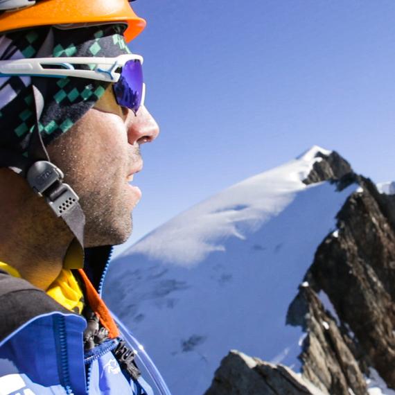 Paul Fontaine au Marathon du Mont Blanc
