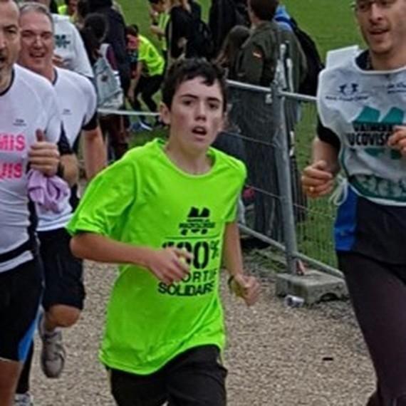 Un défi pour Louis : 25 km de vélo et 5 km de course