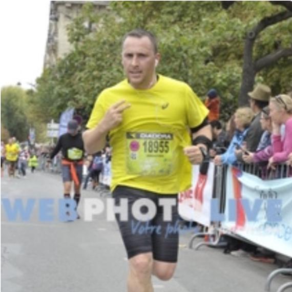 Mon premier marathon de PARIS