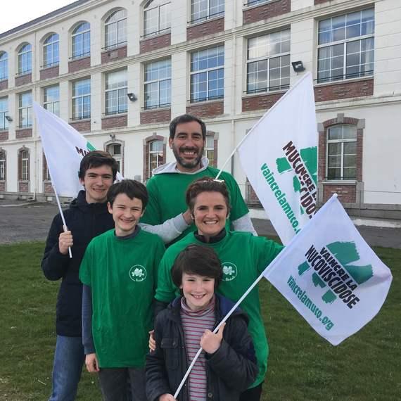 Virade Scolaire Collège et Groupe scolaire des 4 moulins BREST