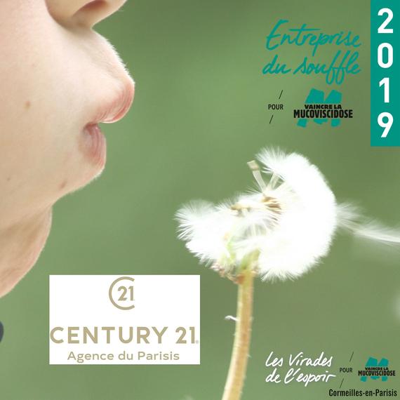 CENTURY 21 AGENCE DU PARISIS donne son souffle pour ceux qui en manquent