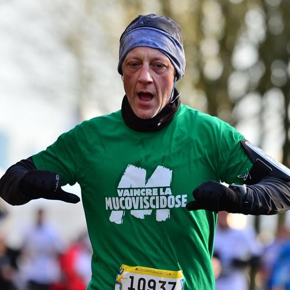 Guy Hoquet Noisy le Roi: une année de course à pied contre la mucoviscidose...