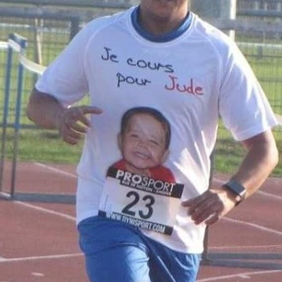 Pour Jude un petit bonhomme courageux