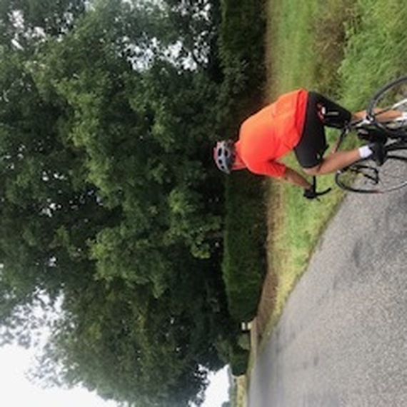 défi cycliste amateur