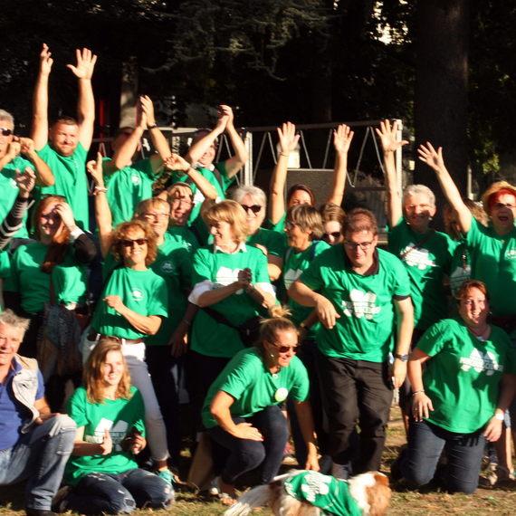 Collecte pour soutenir les 20 ans de la Virade de BOURGOIN-JALLIEU en Isère