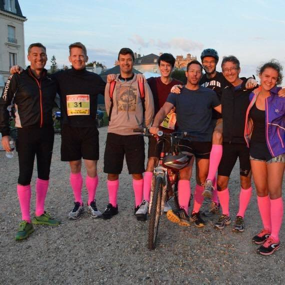 Triathlon en équipe pour vaincre la mucoviscidose