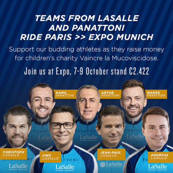 PARIS EXPO REAL by bike