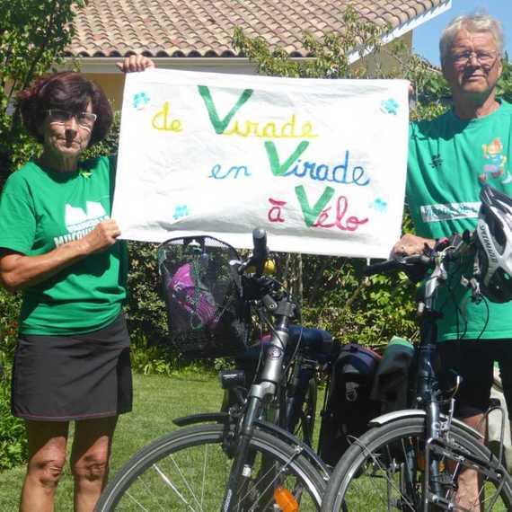Le défi des 3 V : de Virade en Virade, à Vélo !