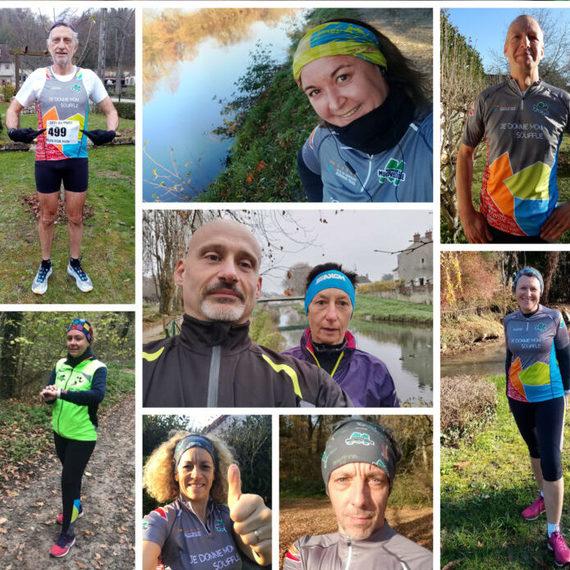 Le Pays de Nemours Running Trail soutient les Virades de l'Espoir.