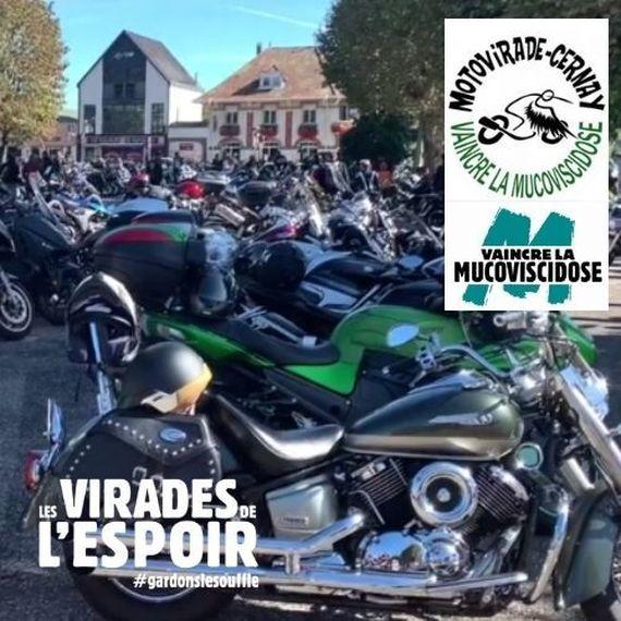 MON DEFI MOTARD(E)S : 20€ pour les 20 ANS - MOTOVIRADE DE CERNAY