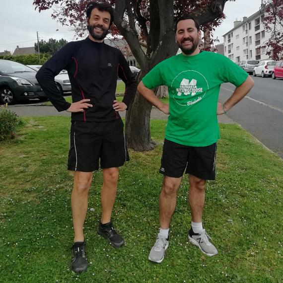 Eric et Vincent courent pour Vaincre la mucovisicidose