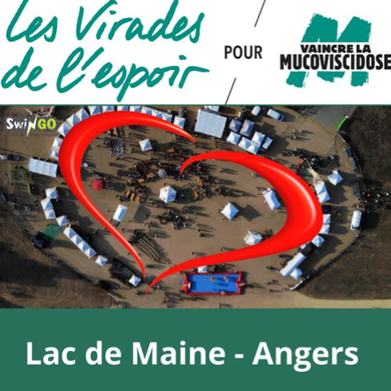Virades de l'espoir Angers / Lac de Maine