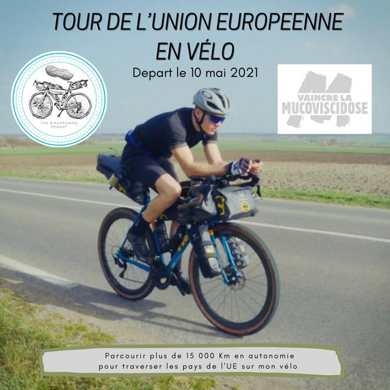 Le tour de l'Union Européenne à vélo